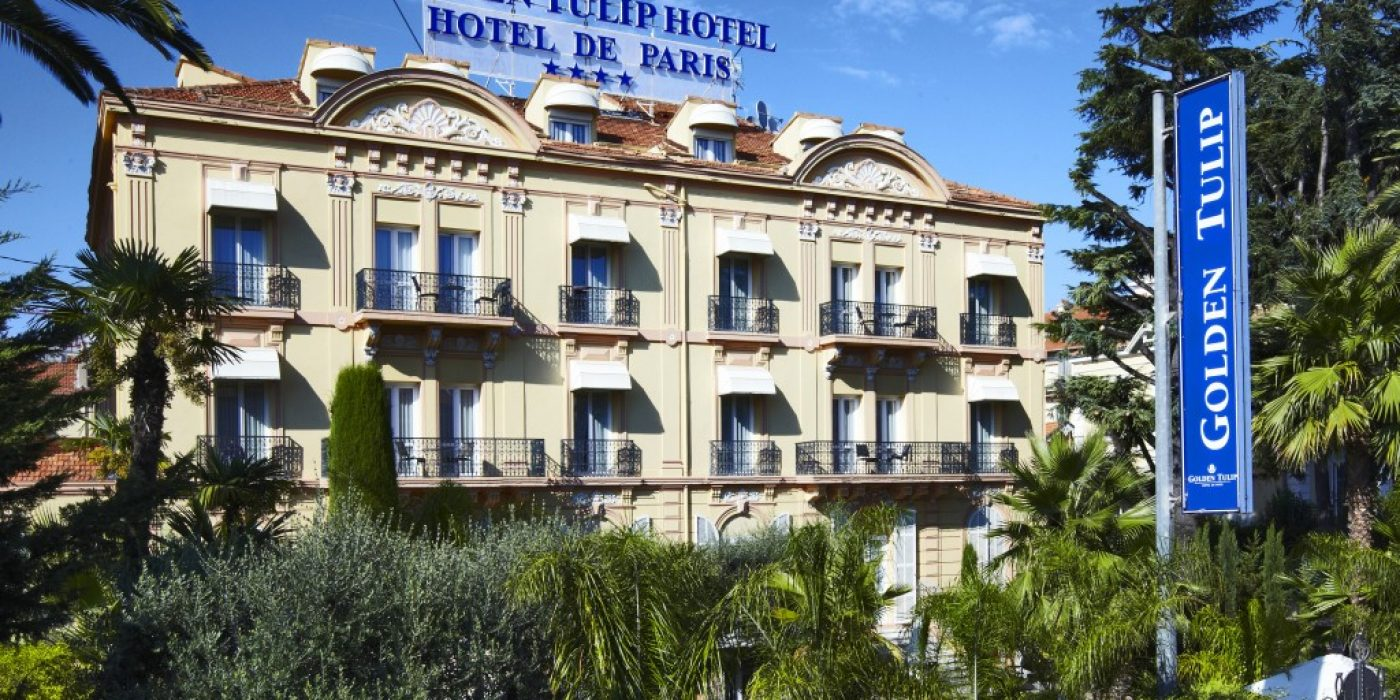 GOLDEN TULIP CANNES HOTEL DE PARIS CENTRE VILLE