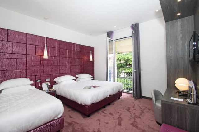 Triple room for three persons modern design View to the pool Highspeed Wifi Internet